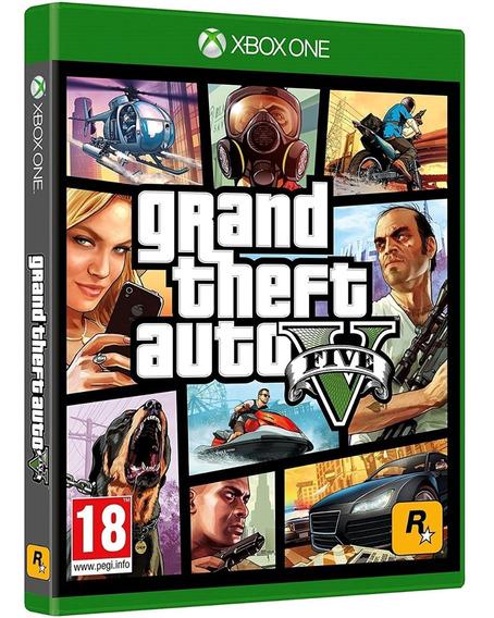 Grand Theft Auto V Gta 5 Xbox One Disco Fisico Dvd Original