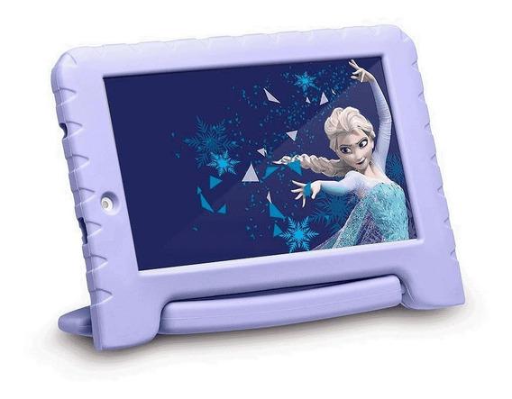 Tablet Multilaser Disney Frozen Wi-fi 16gb Armazenamento 1gb Ram Quad Core Android Nb3150 Garantia Nota Fiscal Oferta