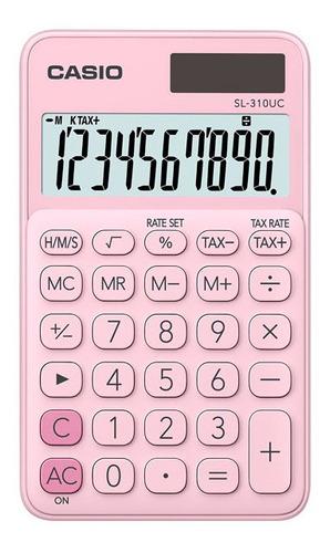 Calculadora Casio Portátil Sl-310uc-pk