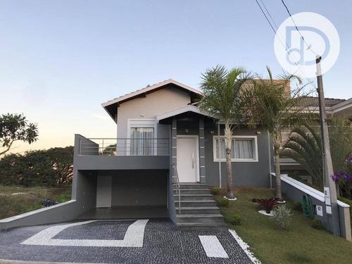 Casa Com 4 Dormitórios À Venda, 272 M² Por R$ 1.200.000,00 - Condomínio Bosque Dos Cambarás - Valinhos/sp - Ca4058