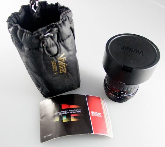 Ultra Grande Angular 13mm P/ Canon Eos /eos-c Leia Descrição