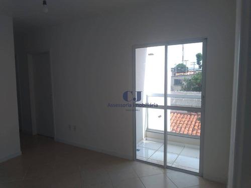Imagem 1 de 14 de Apartamento Com 2 Dormitórios, 55 M² - Venda Por R$ 250.000,00 Ou Aluguel Por R$ 900,00/mês - Jardim Capitão - Sorocaba/sp - Ap0850