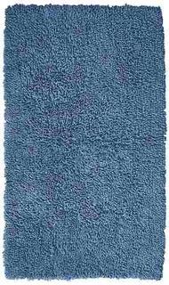 Alfombra Para Baño Azul 85 X 52 Cm Consulte Existencia