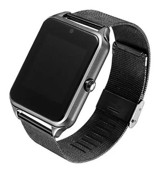 Reloj Pulsera Inteligente Negro