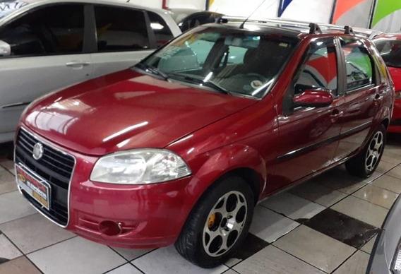 Fiat Palio Elx 1.0 Flex, 2008, Vermelho Com D.h, V.e E T.e