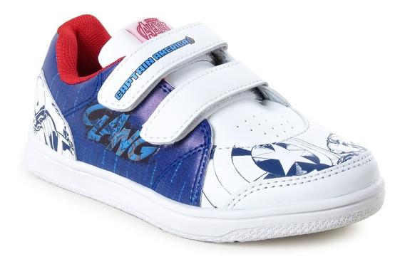 Zapatillas Marvel Capitan America Niño Abrojo The Avengers