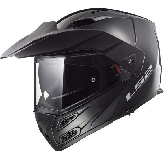 Casco Moto Ls2 F324 Metro Evo Rebatible Doble Visor Cuotas