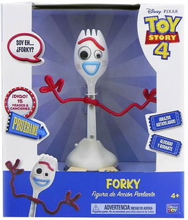 Toy Story 4 Forky Tenedor 15 Frases New Tv 64460 Bigshop