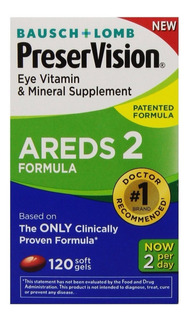 Preservision Areds 2 Luteina Zeaxanthin Bausch Lomb 120 Cap