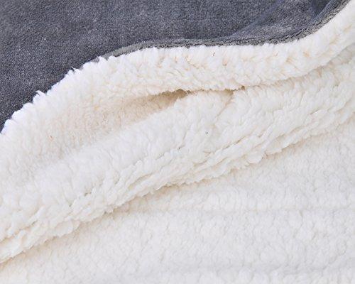 supersuave Sochow Manta de forro polar que brilla en la oscuridad de doble cara lujosa manta para ni/ños