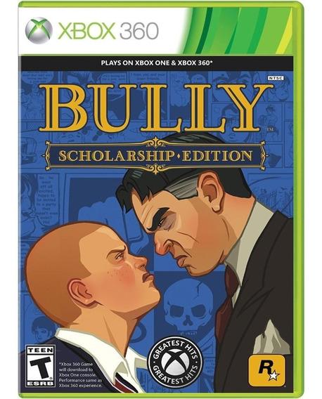 Game Bully Scholarship Xbox 360 Midia Fisica Dvd Original