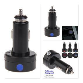Voltímetro Veicular Automotivo Bateria Carro Digital 12v 24v