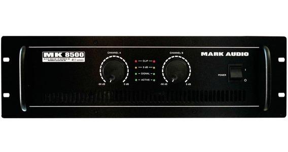 Amplificador Estéreo 2 Ch Mk 8500 Mark Audio 1500w