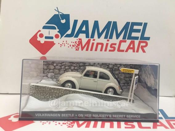 Miniatura Volkswagen Fusca - James Bond 1/43