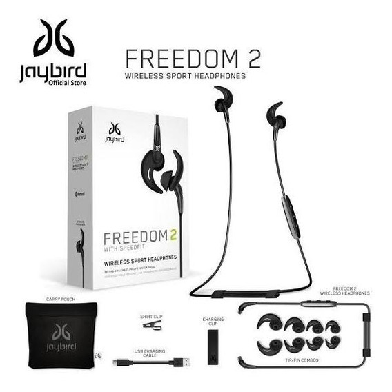 Fone De Ouvido Logitech Jaybird Freedom 2