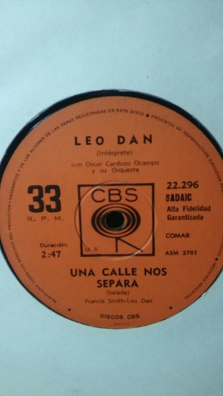 Disco Simple Leo Dan Te He Prometido/una Calle Nos Separa