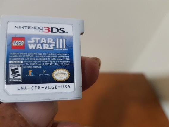 Lego Stars Wars 3 Usado Original Nintendo 3ds