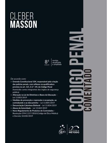 Código Penal Comentado - Cleber Masson 8º Edição