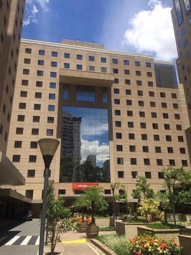 Imagem 1 de 8 de Flat Com 1 Dormitório À Venda, 38 M² Por R$ 540.000,00 - Moema Índios - São Paulo/sp - Fl0092