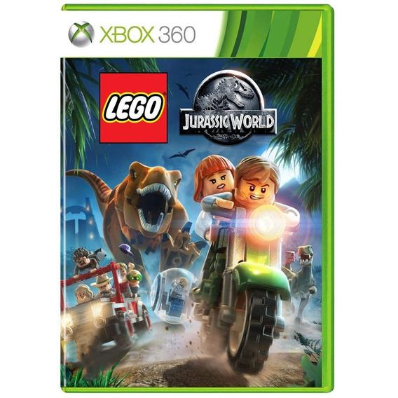 Lego Jurassic World Xbox 360 Mídia Física Pronta Entrega