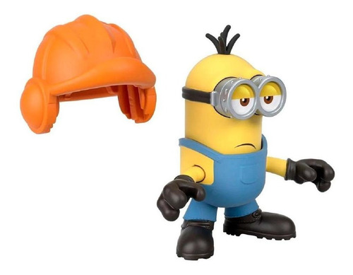 Imaginext Figura Básica Minions Kevin Capacete - Mattel