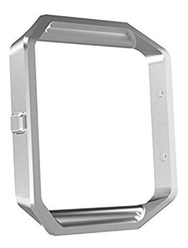 Imagen 1 de 5 de Correa De Acero Inoxidable Para Reloj Fitbit Blaze
