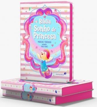 Bíblia Sonho De Princesa - Capa Dura