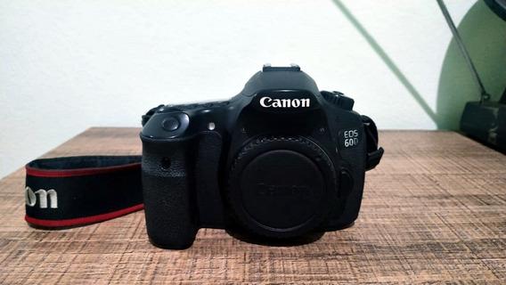 Câmera Canon 60d (corpo) + Acessórios (caixa E Manual)