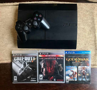Sony Playstation Ps3 12gb+joystick+3 Juegos Excelente Estado
