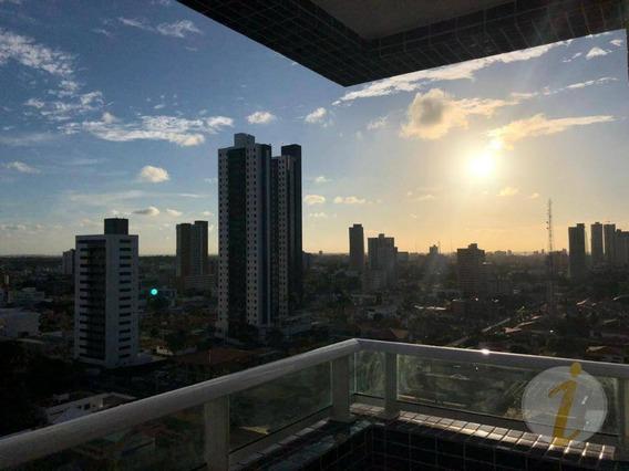 Apartamento Com 3 Dormitórios À Venda, 94 M² Por R$ 610.000 - Bairro Dos Estados - João Pessoa/pb - Ap6467