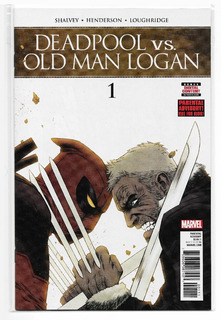 Deadpool Vs Old Man Logan #1 Portada Regular Declan Shalvey