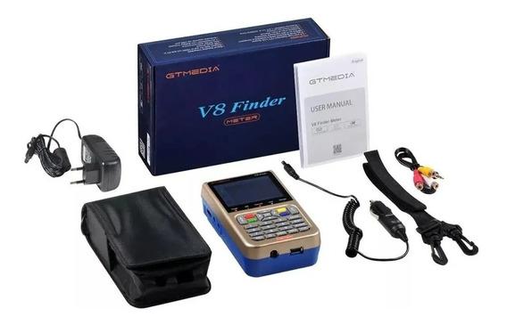 Localizador De Satélites Gtmedia V8 Finder Meter Acm