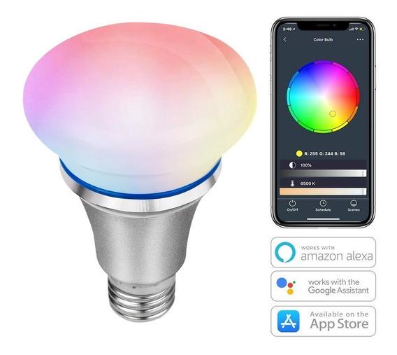 Lampada Inteligente 8w Google Home E Alexa