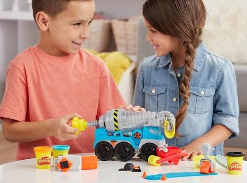 Play Doh Wheels Camión De Cemento 4 Moldes Hasbro Original
