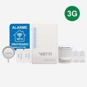 Smartalarm Kit Com Gsm 3g Vetti