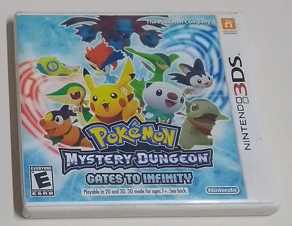 Pokémon Mystery Dungeon - Gates To Infinity - Original 3ds