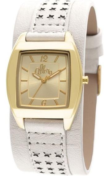 Relógio Feminino Allora Flor Da Pele Al2035ep/2b Dourado
