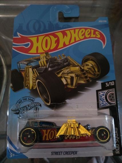 Hotwheels Sth Street Creeper , Roda Borracha , Super Sth