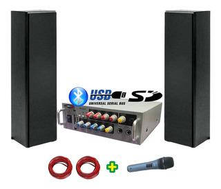 Combo Sonido Hi Fi 4 Canales Usb Bluetooth Sd - Cuotas
