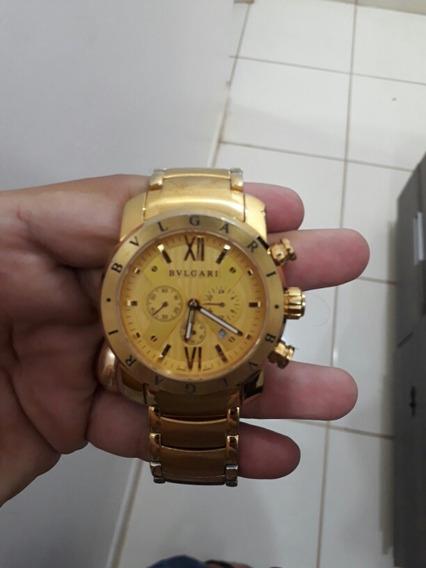 Relógio Bulgari Dourado