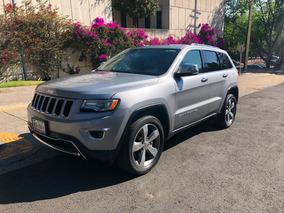 Jeep Grand Cherokee 2015 Limited Lujo V6 Piel Qc Excelente