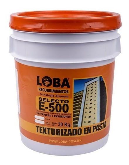 Pasta Texturizada Loba E-500 Grano Medio Blanco