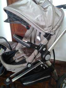 Carrinho Compass Ii Capuccino + Bebê Conforto - Kiddo