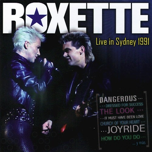 Live In Sydney 1991 - Roxette (cd)