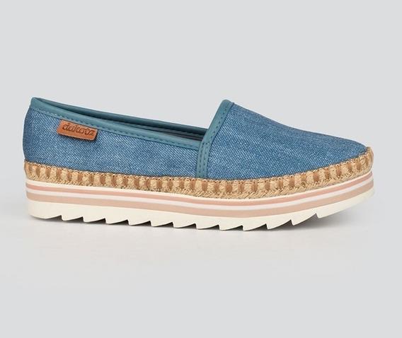 Tênis Dakota Slip On Cordas Jeans G1851