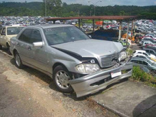 Mercedes C180 1998 1.8 W202 Sucata Peças Câmbio Motor Painel
