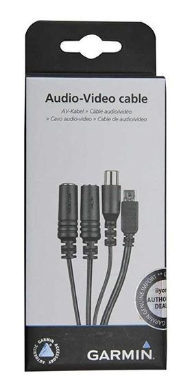 Cabo Audio E Video Para Virb Garmin