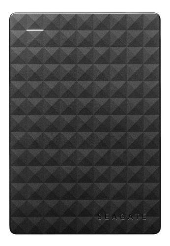 Imagen 1 de 3 de Disco duro externo Seagate Expansion STEA5000402 5TB negro