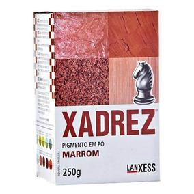 Corante Em Pó Xadrez 250g Vermelho Caixa Com 06 Unidades