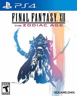 Final Fantasy 12 The Zodiac Age - Playstation 4 (físico) Id